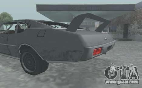 Clover Stock Car para la visión correcta GTA San Andreas