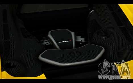 McLaren 650S Coupe para las ruedas de GTA San Andreas