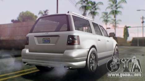 GTA 5 Dundreary Landstalker IVF para GTA San Andreas left