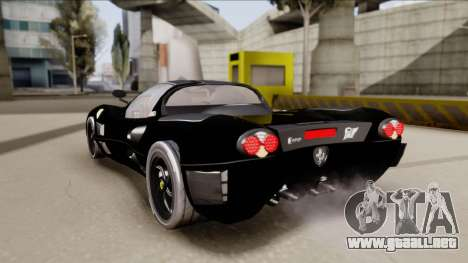 Ferrari P7-2 Shadow para GTA San Andreas left