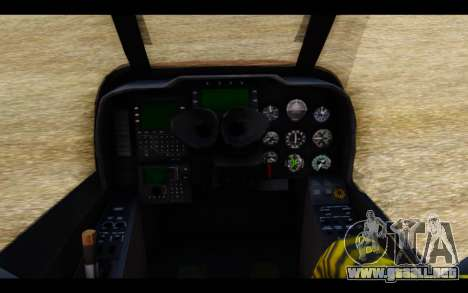 AH-1W IRIAF SuperCobra para la visión correcta GTA San Andreas