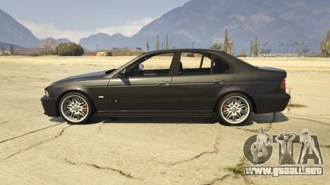 GTA 5 BMW M5 E39 1.1 vista lateral izquierda