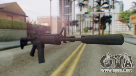 Arma Armed Assault M4A1 Aimpoint Silenced para GTA San Andreas