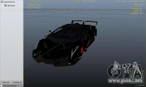 GTA 5 2013 Lamborghini Veneno HQ EDITION vista lateral derecha