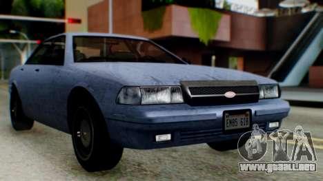 GTA 5 Vapid Stanier II IVF para GTA San Andreas