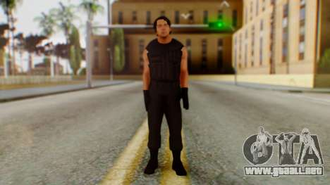 Dean Ambrose para GTA San Andreas segunda pantalla