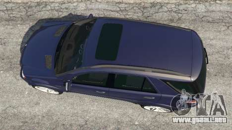 GTA 5 Mercedes-Benz ML63 (W164) 2009 vista trasera