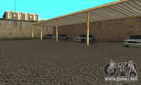 La renovación de las escuelas de manejo en San F para GTA San Andreas quinta pantalla