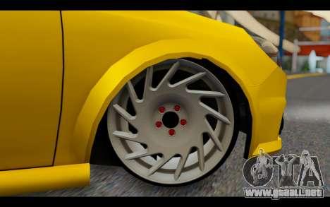 Opel Vectra Special para GTA San Andreas vista posterior izquierda