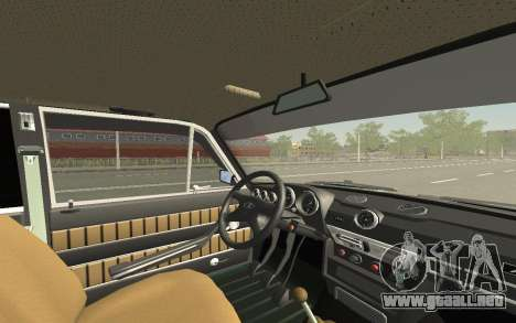 VAZ 2103 Sport tuning para GTA San Andreas interior