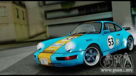 Porsche 911 Turbo 3.2 Coupe (930) 1985 para la visión correcta GTA San Andreas