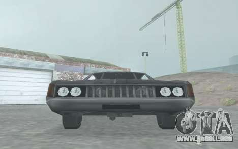 Clover Stock Car para GTA San Andreas vista posterior izquierda