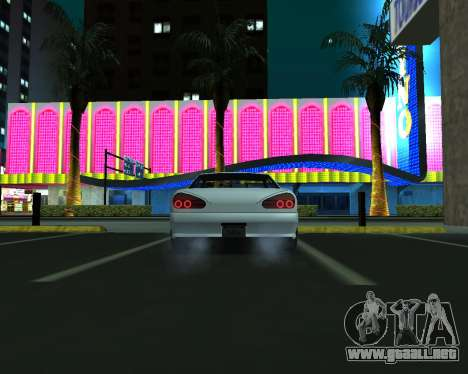 Elegy C35 para GTA San Andreas vista hacia atrás