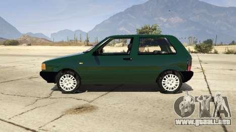 GTA 5 Fiat Uno 1995 vista lateral izquierda