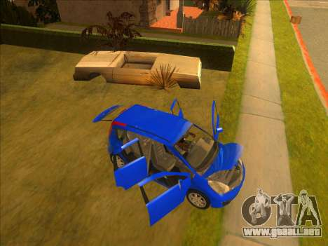 Nissan Note v0.5 Beta para vista inferior GTA San Andreas