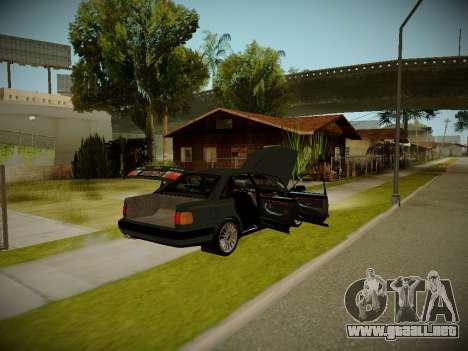 Audi 100 C4 Belarus Edition para GTA San Andreas vista hacia atrás