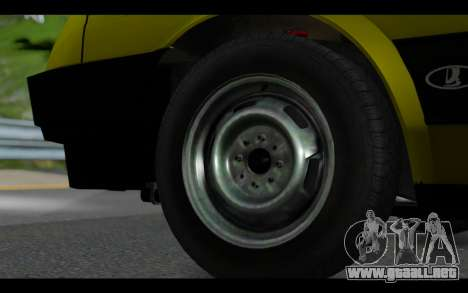 Lada Samara para la visión correcta GTA San Andreas