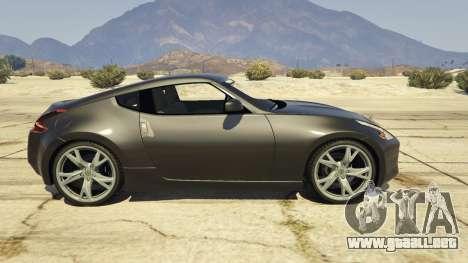 GTA 5 Nissan 370z v2.0 vista lateral izquierda