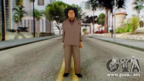 WWE Jim Ross para GTA San Andreas segunda pantalla