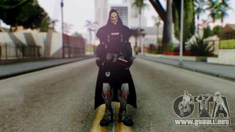 Reaper - Overwatch para GTA San Andreas segunda pantalla