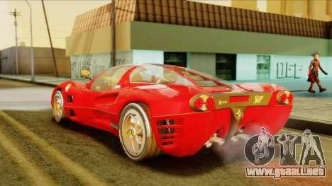 Ferrari P7 Coupè para GTA San Andreas left