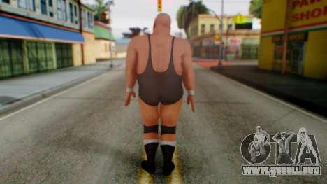 K Kong Bundy para GTA San Andreas tercera pantalla