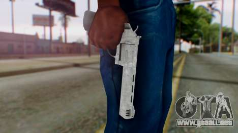 GTA 5 Platinum Revolver para GTA San Andreas tercera pantalla
