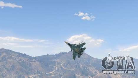 GTA 5 Su-33 cuarto captura de pantalla