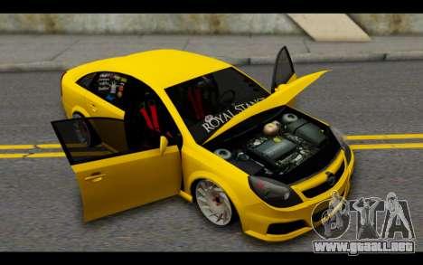 Opel Vectra Special para vista lateral GTA San Andreas