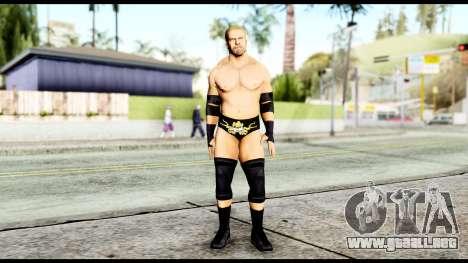 WWE Triple H para GTA San Andreas segunda pantalla