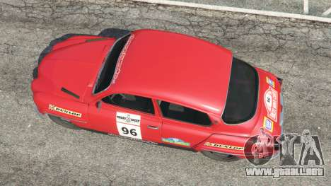 GTA 5 Saab 96 [rally] vista trasera