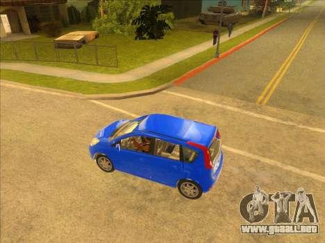 Nissan Note v0.5 Beta para GTA San Andreas left