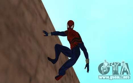 Sensacional Spider-Man Ben Reilly Robinosuke para GTA San Andreas segunda pantalla