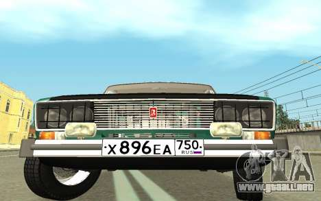 VAZ 2103 Sport tuning para la visión correcta GTA San Andreas