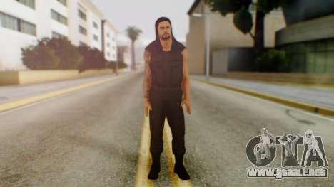 Roman Reigns para GTA San Andreas segunda pantalla