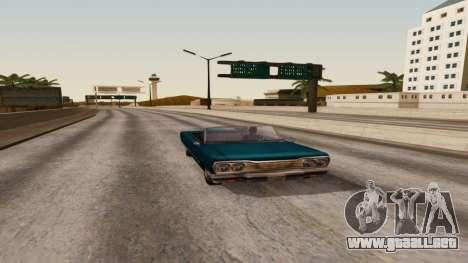 ENB by Robert v8.4 para GTA San Andreas tercera pantalla