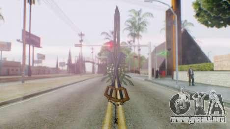 KHBBSFM - X-Blade para GTA San Andreas tercera pantalla