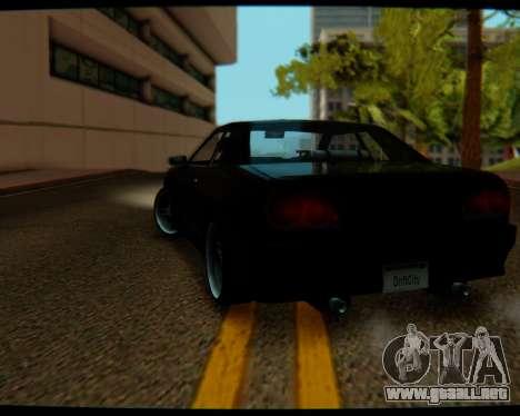 Elegy Stock HD by Balalaika para GTA San Andreas left