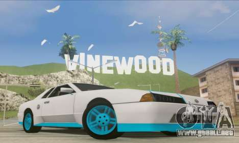 Elegy DRIFT KING GT-1 [2.0] (New wheels) para GTA San Andreas