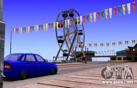 VAZ 2170 KBR para visión interna GTA San Andreas