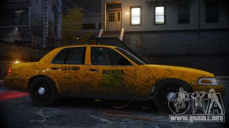 Ford Crown Victoria L.C.C Taxi para GTA 4 left