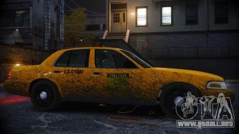 Ford Crown Victoria L.C.C Taxi para GTA 4 left