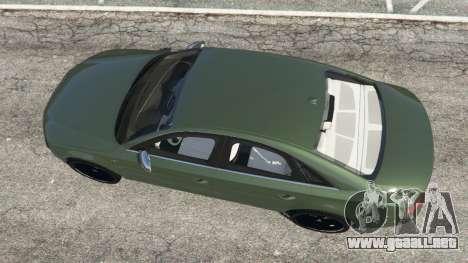 GTA 5 Audi S8 Quattro 2013 v1.2 vista trasera