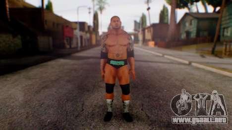 WWE Batista para GTA San Andreas segunda pantalla