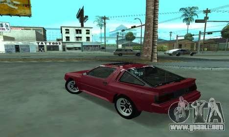 Mitsubishi Starion ECI-R para GTA San Andreas left