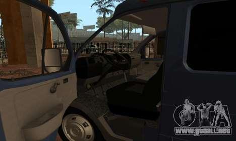 GAZelle 33023 Nova Poshta para la visión correcta GTA San Andreas
