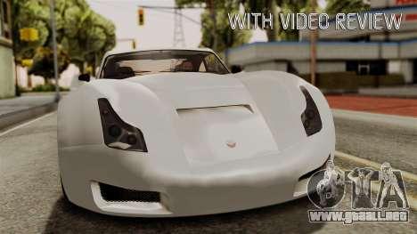 GTA 5 Bravado Verlierer IVF para GTA San Andreas