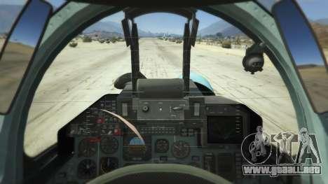 GTA 5 Su-33 tercera captura de pantalla