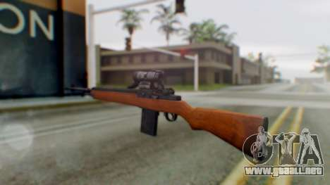 Arma2 M14 Assault Rifle para GTA San Andreas segunda pantalla
