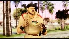 WWE Sgt Slaughter 1 para GTA San Andreas